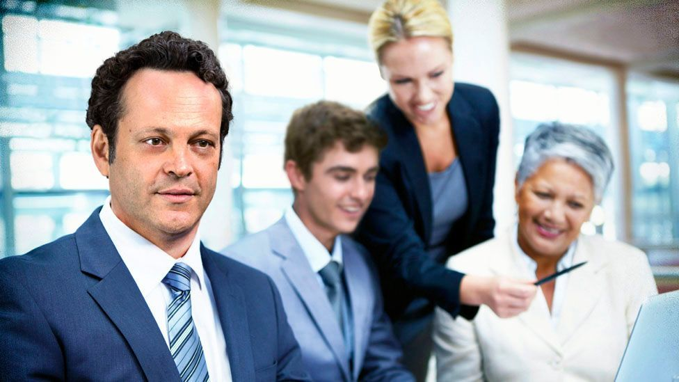 Actor Vince Vaughn appears in a marketing spoof for the film Unfinished Business (Credit: Global Stock/iStock by Getty Images)