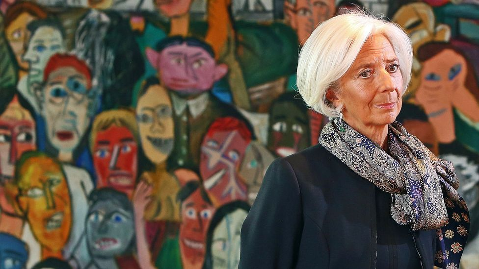 Powerful women who routinely wear scarves include Christine Lagarde, managing director of the International Monetary Fund. (Source: Adam Berry-Pool/Getty Images)