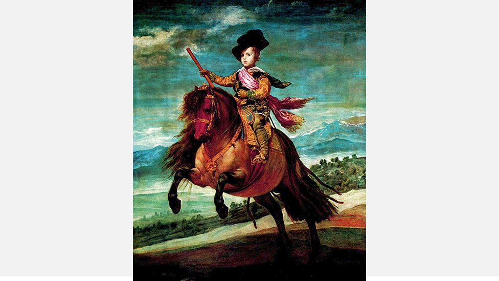 Prince Balthasar Carlos in his riding attire, by  Diego Velázquez (Credit: Wikipedia)