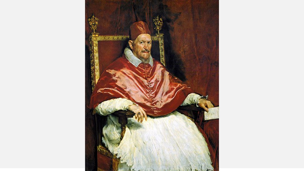 Pope Innocent X, Rome, by  Diego Velázquez (Credit: Wikipedia)