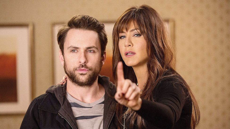 Jennifer Aniston was Charlie Day's terrible supervisor in movie Horrible Bosses 2 (Credit: Warner Bros/Rex Features)