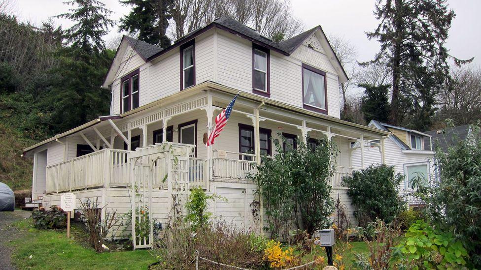 The Goondocks house used in filming. (Credit: David G Allan)