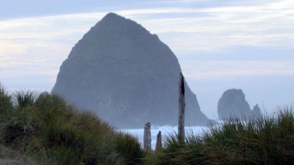 Haystack Rock off Cannon Beach. (Credit: David G Allan)
