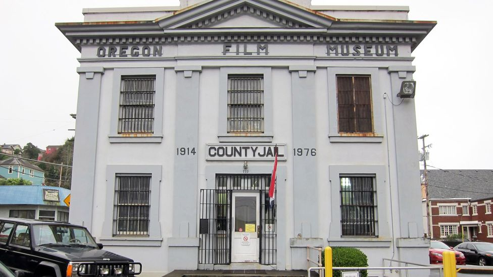 Former county jail where the opening scene was shot. (Credit: David G Allan)