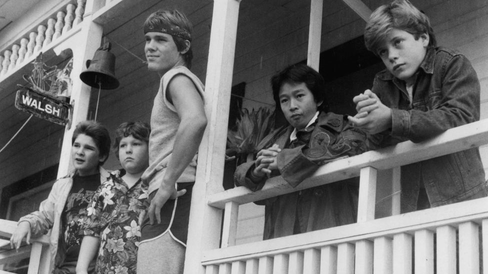 Scene from The Goonies at the Goondocks house. (Warner Brothers/Getty)