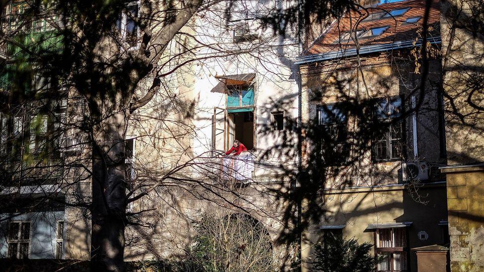 The residential courtyard at the Arnold. (Credit: Sanjin Kastelan)