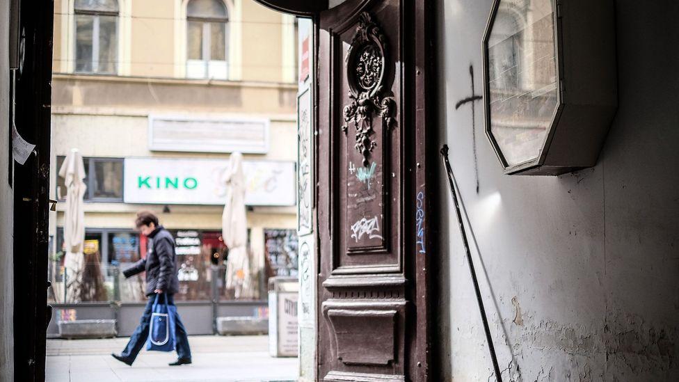 The entrance to LiberSpace. (Credit: Sanjin Kastelan)