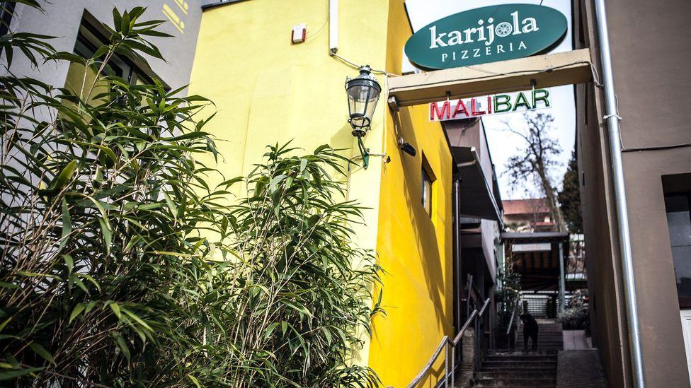 The entrance to Mali Bar and Karijola. (Credit: Sanjin Kastelan)
