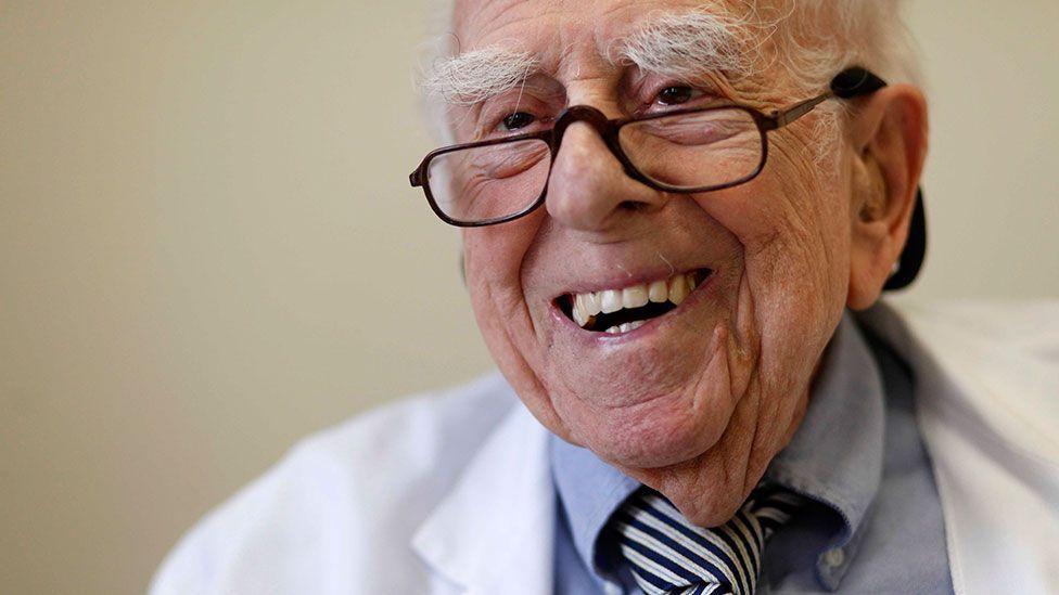 Ephraim Engleman, 103, still works as a doctor (Credit: Corbis)