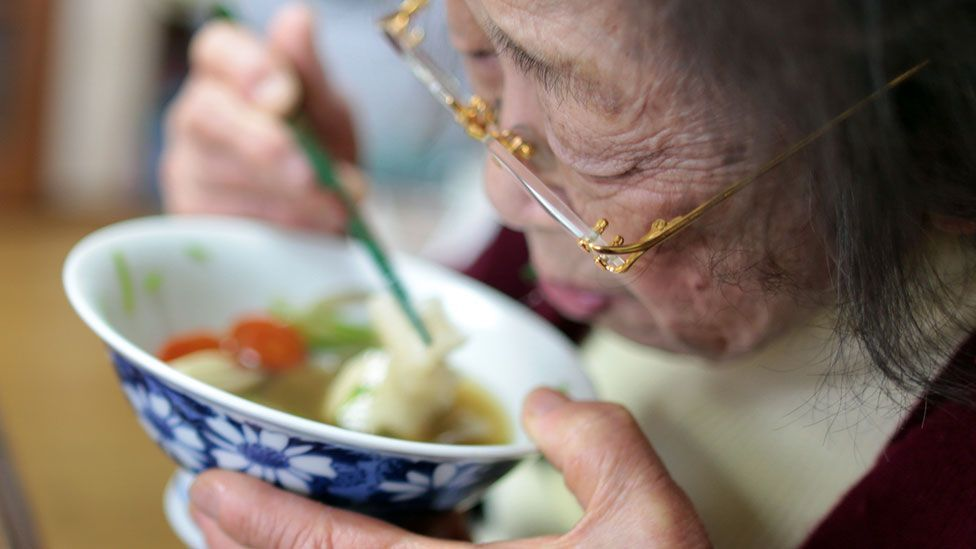 In Japan, the elderly often live with their younger family (Credit: Getty Images)
