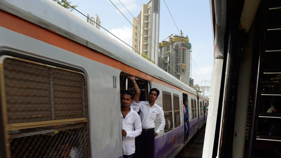 Mumbai's train are unable to take the strain of the city's millions of commuters (Credit: AFP/Getty Images)