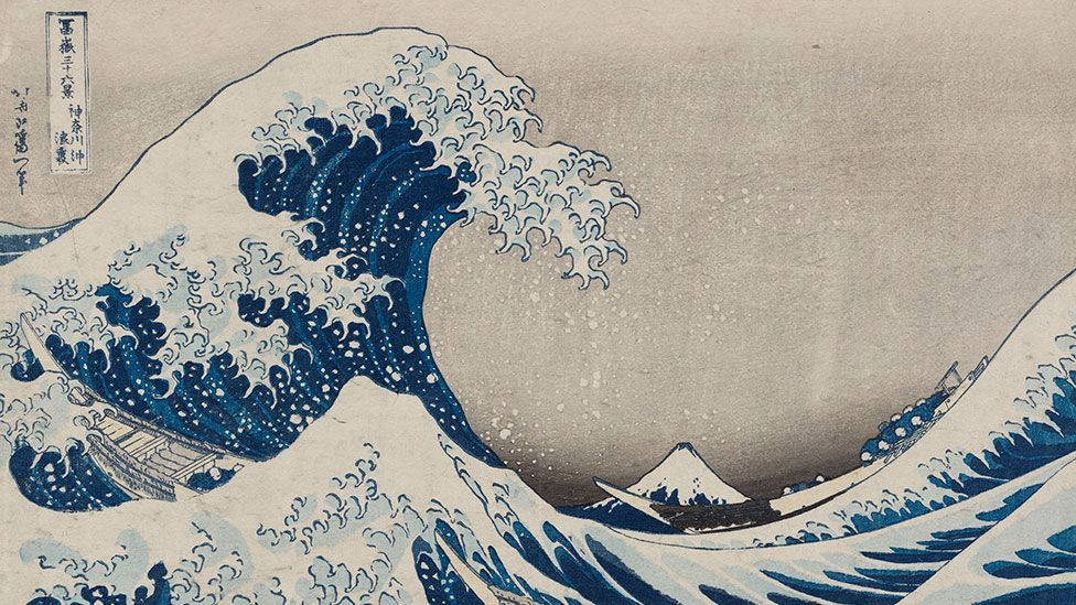 (Credit: Katsushika Hokusai / Museum of Fine Arts, Boston)