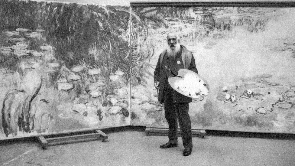 Monet drew inspiration from his Japanese garden at Giverny for many of his famous late works (Credit: The Print Collector/Getty Images)