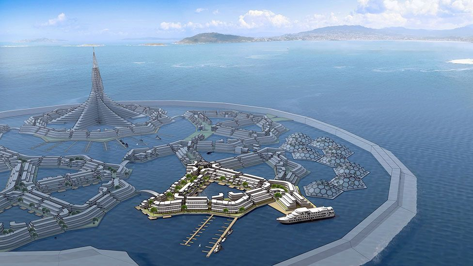 Does the romantic dream of seasteading match the reality? (Credit: The Seasteading Institute)