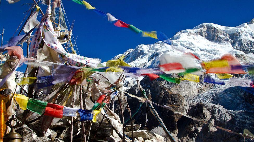 Nepal, hiking trails, trekking, Himalayas, basecamps, Oktang, Yalung Glacier
