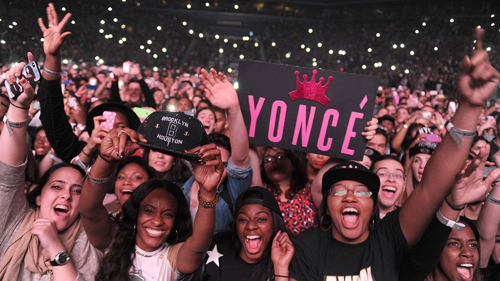Beyoncé's legions of fans are known as the Beyhive (Credit: Kevin Mazur/WireImage for Parkwood Entertainment)