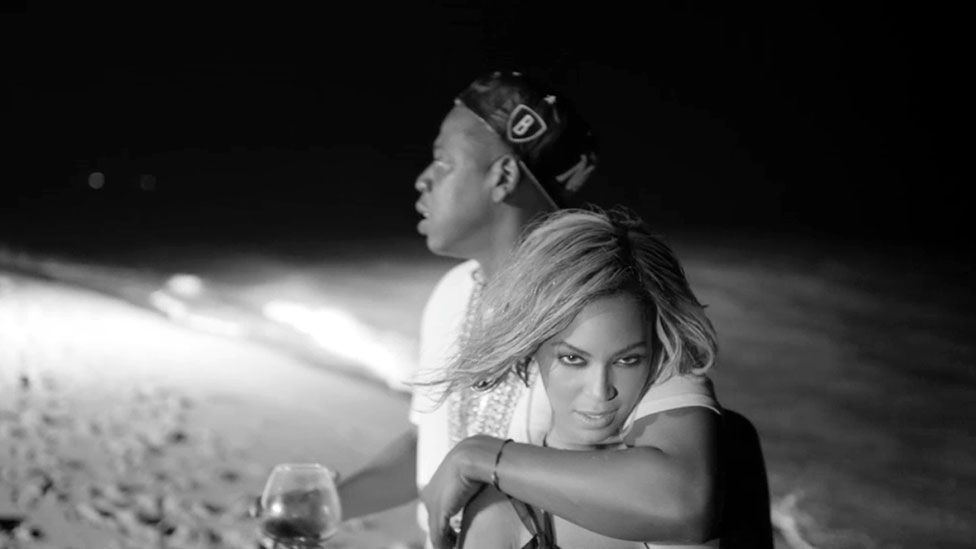 In her song Drunk in Love Beyoncé makes a case that marriage can be sexy – an unusual argument for a pop star (Credit: Columbia)