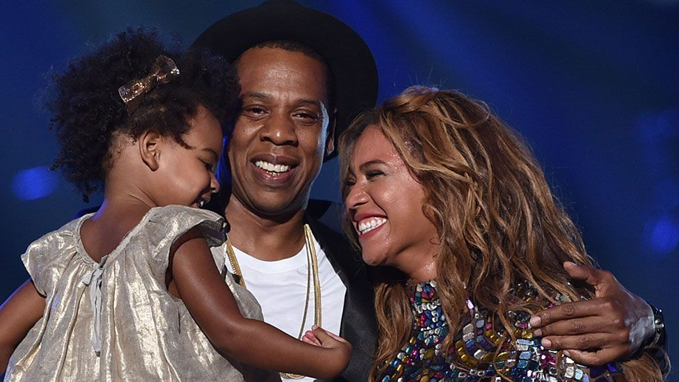Beyoncé frequently mentions the importance of her roles as wife (to Jay-Z) and mother (Credit: Getty Images for MTV)