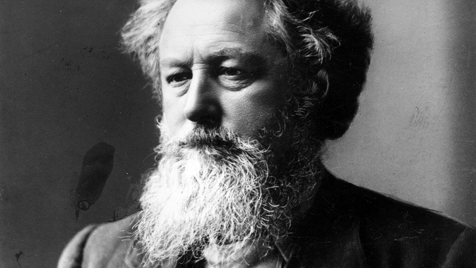Famous English poet William Morris rejected the notion of reading his poems as if they were prose (Credit: London Stereoscopic Company/Getty Images)