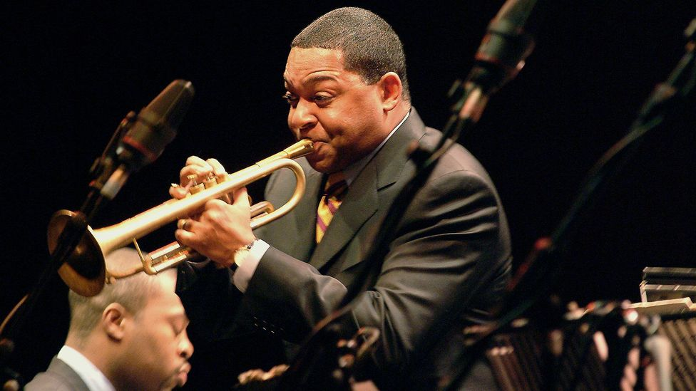 Wynton Marsalis has distinguished himself as an educator, administrator and artistic director as well as a performer (Credit: Lebrecht Music and Arts Photo Library/Alamy)