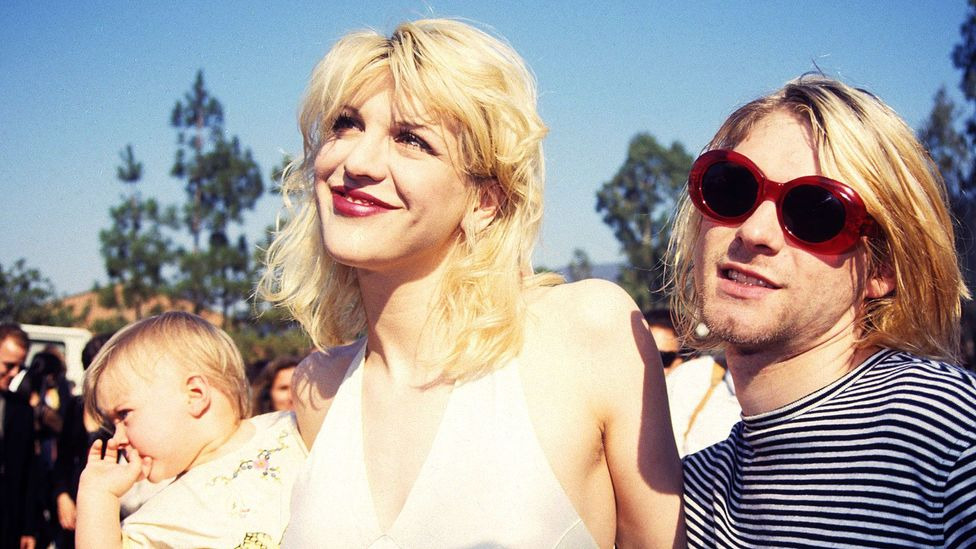 Kurt Cobain and Courtney Love (Credit: Getty Images)