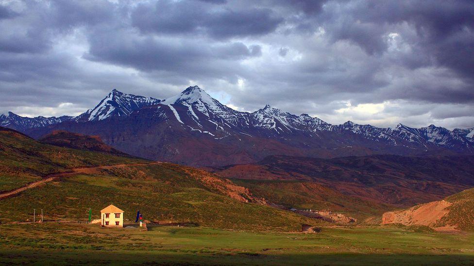 On the fringe of Spiti Valley (Credit: Neelima Vallangi)