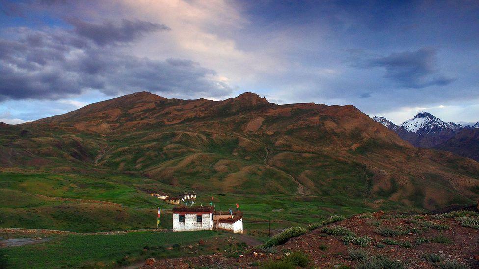 The village of Gette (Credit: Neelima Vallangi)