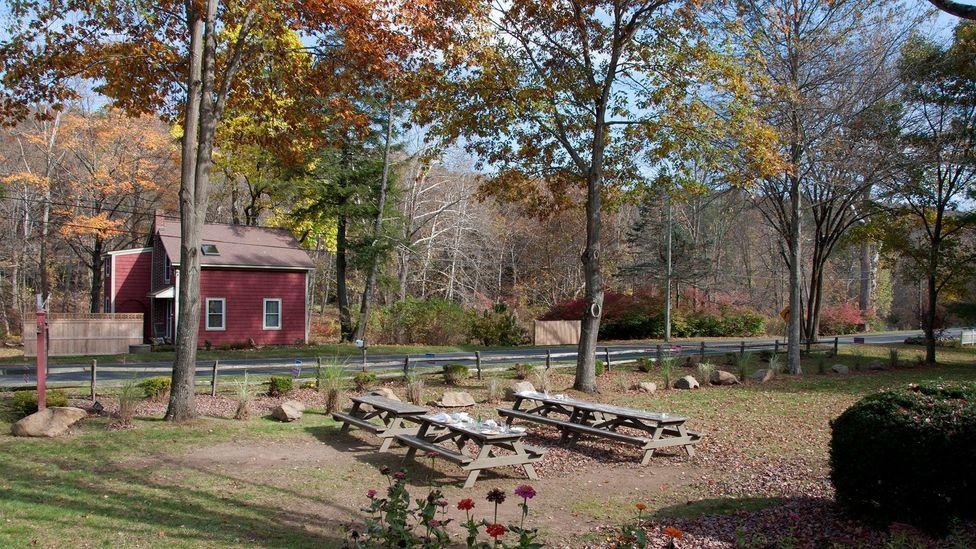Graceful colonial barnhouses (Credit: Amanda Ruggeri)