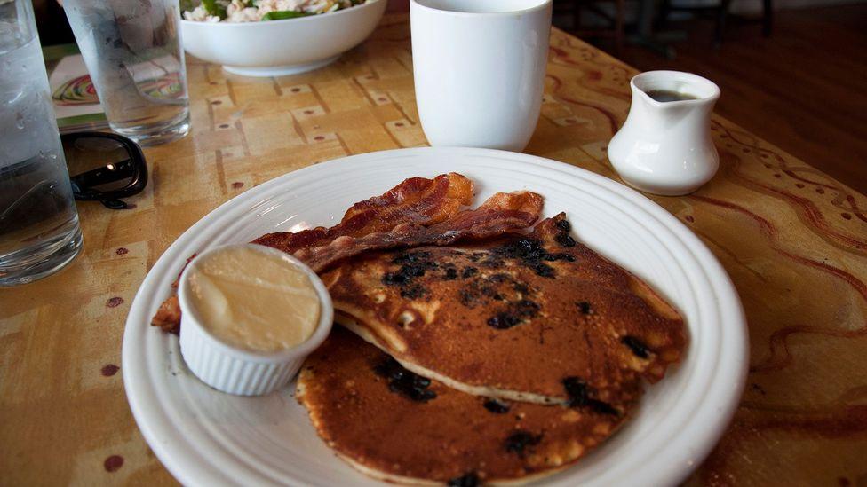 Pancakes at Mamie's (Credit: Amanda Ruggeri)