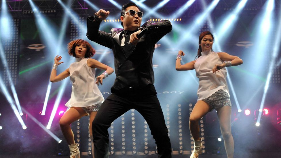 Psy's Gangnam Style is credited with 'breaking' video-sharing website YouTube (Credit: Getty Images)
