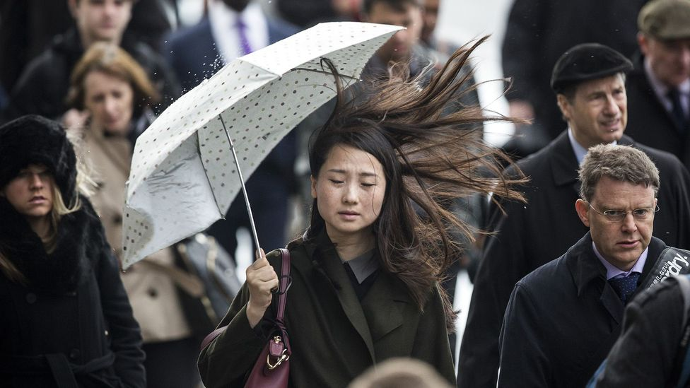 Bad weather can affect voting behaviour (Credit: Chris Ware/Getty Images)