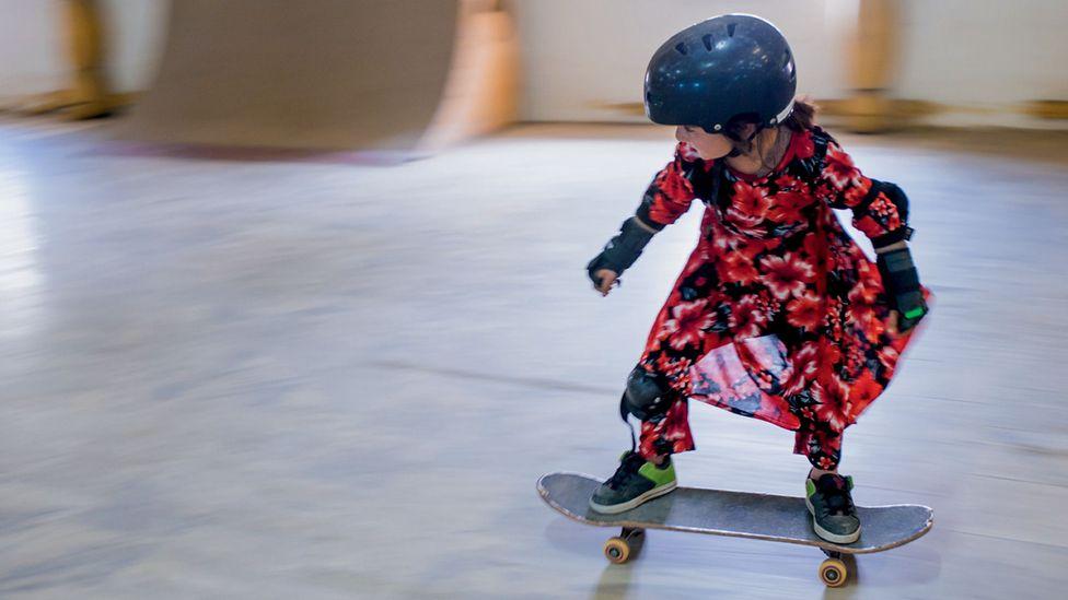 Skate girls of Kabul (Credit: Jessica Fulford-Dobson)