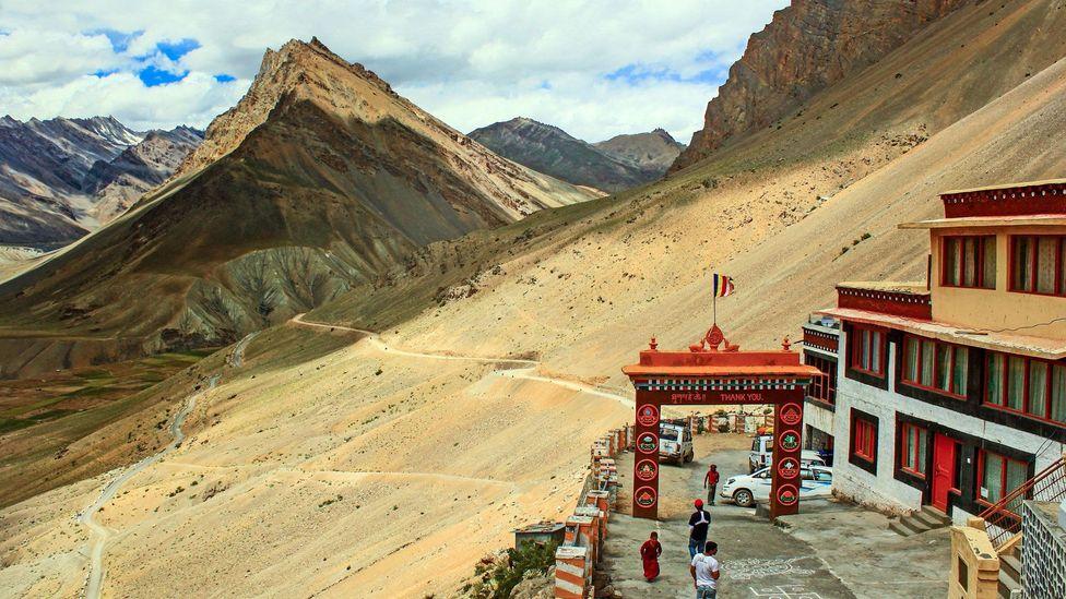 A view from Dhankar Monastery (Credit: Neelima Vallangi)