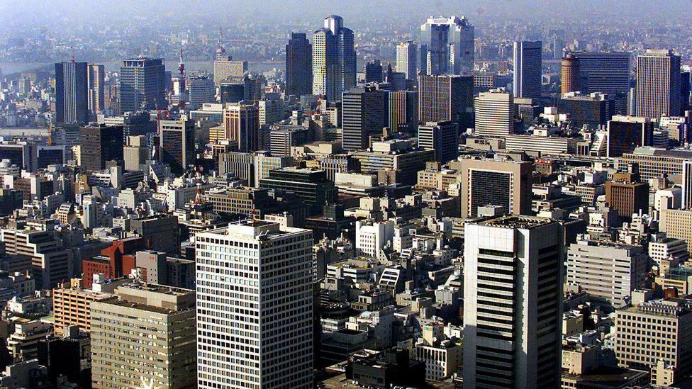 Osaka's metropolitan skyline (Credit: Yoshikazu Tsuno/Getty)