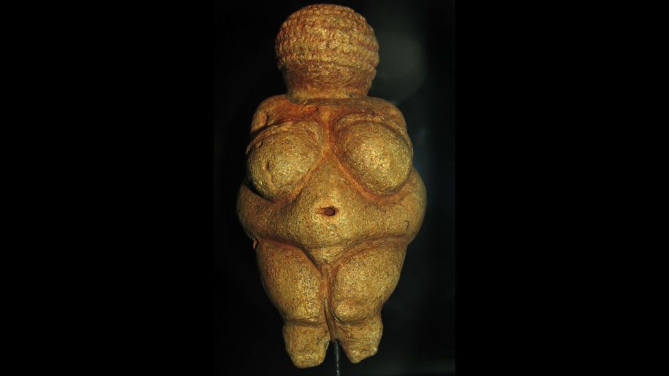 The ancient Venus of Willendorf shows an interest in depicting ample forms that stretches back millennia (Credit: Venus of Willendorf/Don Hitchcock/Wikipedia/CC BY SA 3.0)