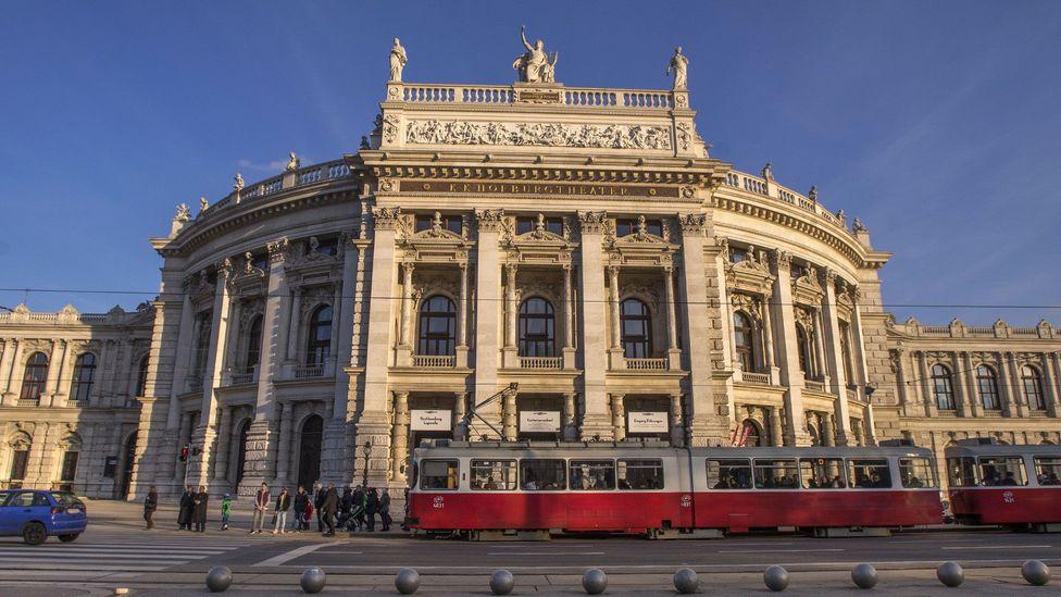 The exterior of the Burgtheater (Credit: Joe Klamar/AFP/Getty Images)