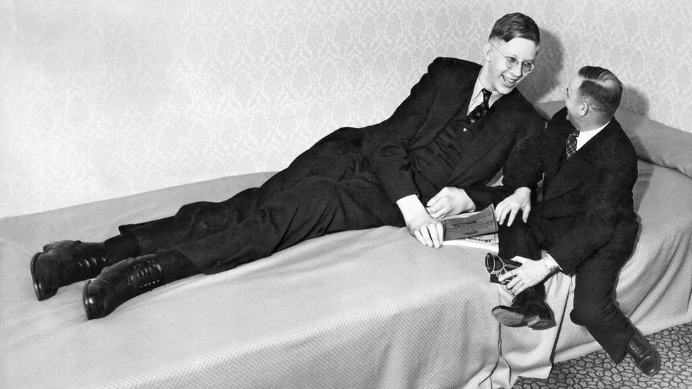 Robert Wadlow (Credit: Getty Images)