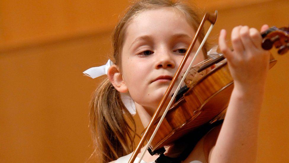 Alma Deutscher, who has been called 'Little Miss Mozart' (Credit: Keshet Eilon)