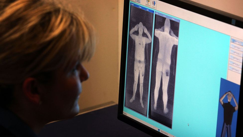 There have been privacy concerns over certain scanners revealing too much detail (Credit: Getty Images)