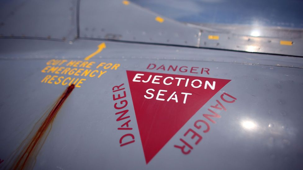 Generations of rocket-assisted seats have saved thousands of aviators lives (Credit: Getty Images)