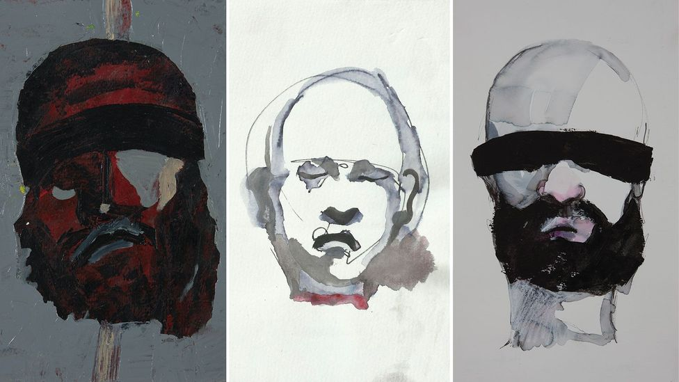 Haider Jabbar's recent series focuses on the beheadings by IS (Credit: Haider Jabber)