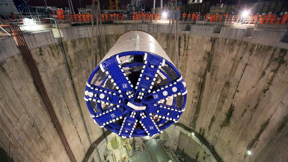 The Crossrail project is one of the world's most ambitious engineering feats (Credit: Crossrail)