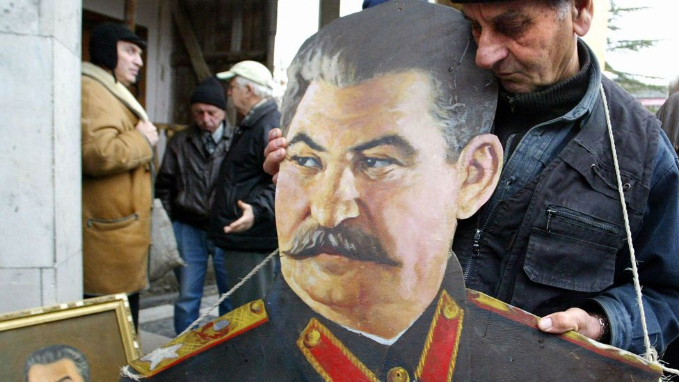 Joseph Stalin, whose rule oversaw up to 45 million Russian deaths (Getty Images)