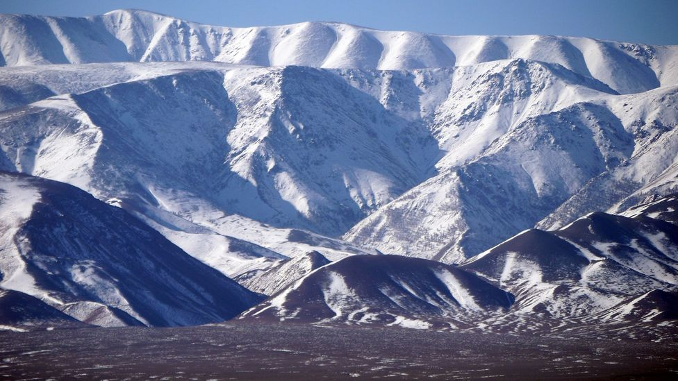 Mountains in northern Mongolia (Credit: Stephen Fabes)