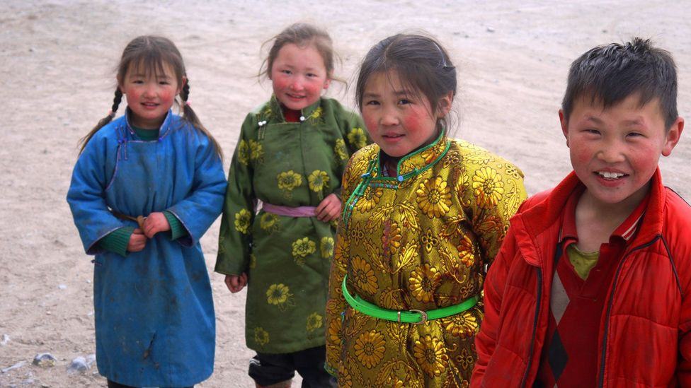 Smiling children (Credit: Stephen Fabes)