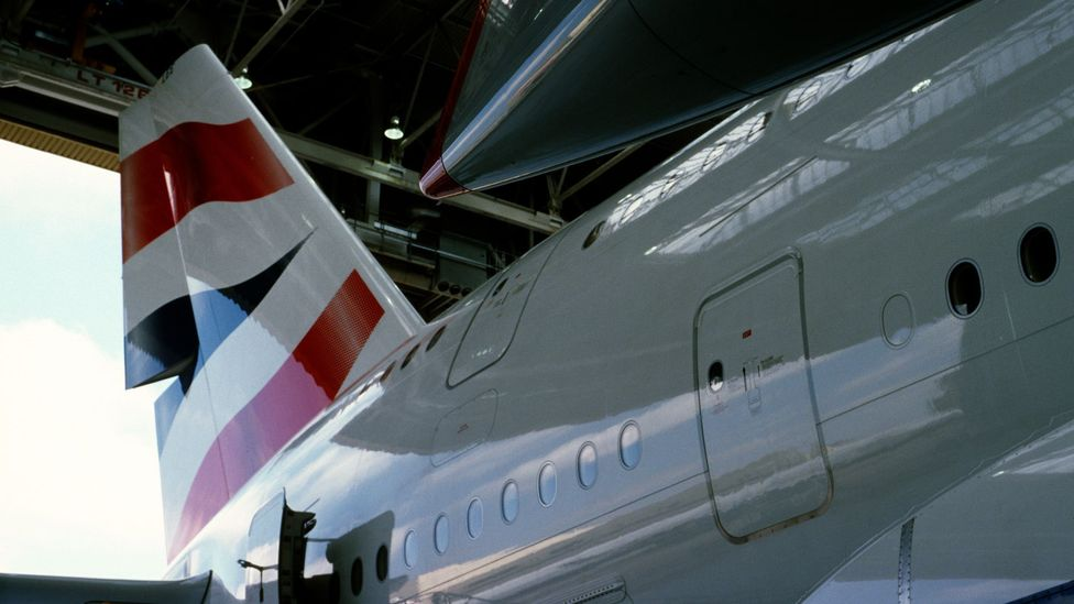 The hangars underwent 18 months of refurbishment in order to fit the outsize airliners (Credit: Stephen Dowling)