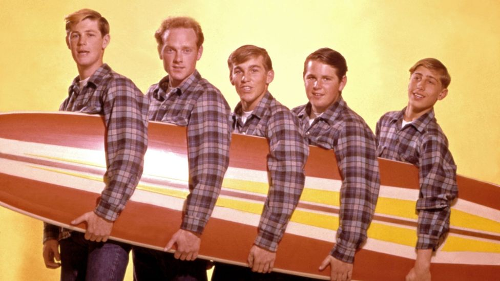 The Beach Boys released their first album, Surfin' Safari, in October 1962 – nine of their subsequent LPs in the next four years would hit the Top 10 (Credit: Getty Images)