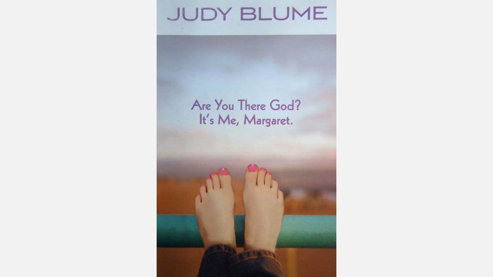 Are you there God? It's me, Margaret is one of Blume's most popular teen novels. Her books chart the moment when girls start to grow into their changing bodies (Credit: Amazon)