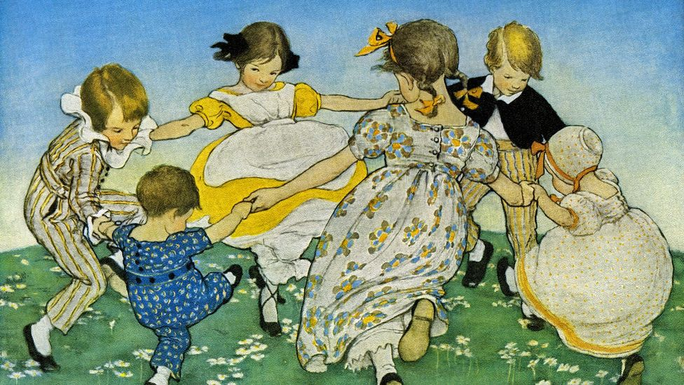 Ring a Ring o Roses is just one of many juvenile ditties thought to have less-than-child-friendly origins (Credit: Getty Images)