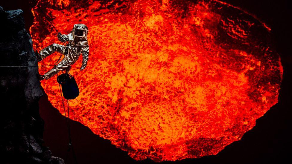 'Entering hell'